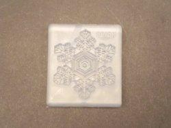 画像1: 【クリスマスに!】シリコンモールド 雪の結晶プレートLL