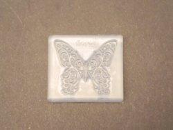 画像1: シリコン製ソフトモールド チョウプレートLL