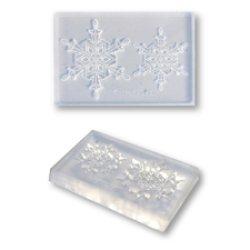 画像1: 【クリスマスに!】クリアモールド 雪の結晶 スタンダードA