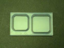 画像1: シリコン型 四角フラット 大