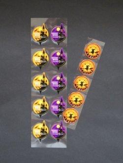 画像1: 【ハロウィン】ケーキタグ(サークルシャトー&魔法使い)15枚セット