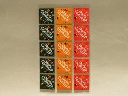 画像1: 【クリスマスに!】ケーキタグ・メリークリスマス3色15枚セット